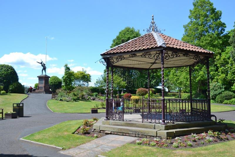 Bridgnorth bandstand zdjęcie royalty free