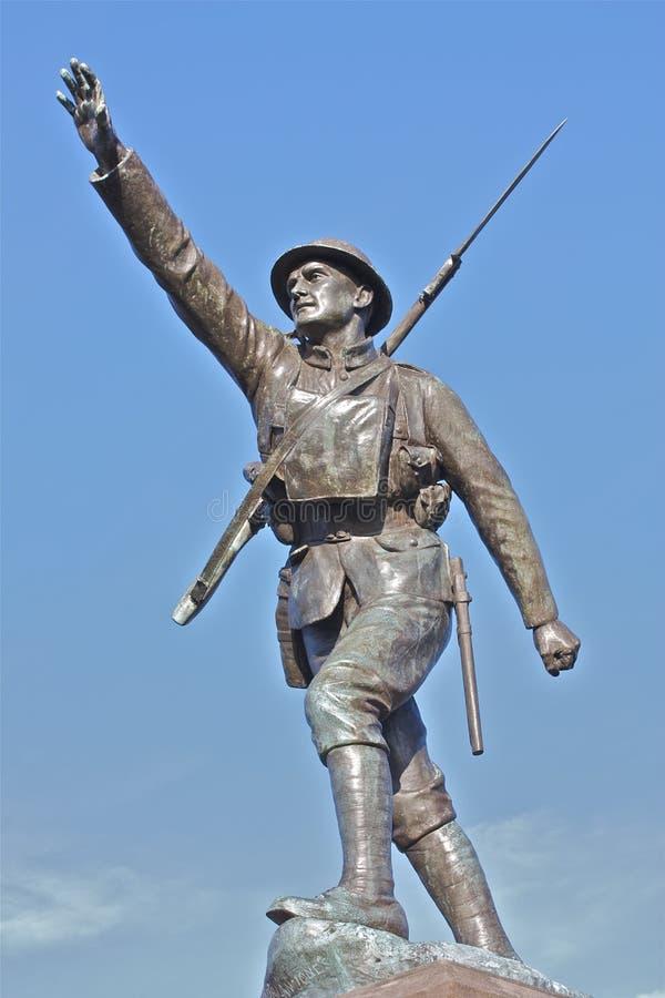 Bridgnorth War Memorial stock image