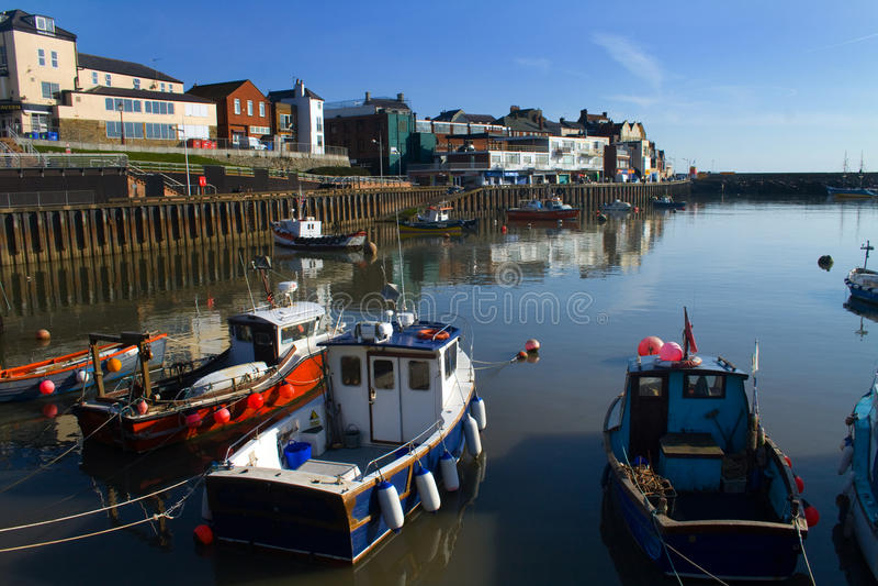 Bridlington-Hafen lizenzfreies stockbild