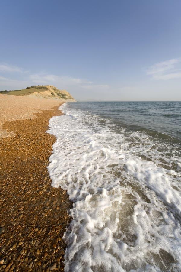 bridport Dorset England wybrzeże jurassic portu morskiego obraz royalty free