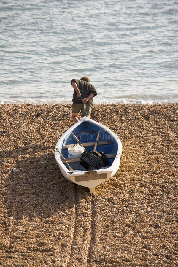 Bridport jurassique de port maritime de côte de l'Angleterre Dorset photo libre de droits