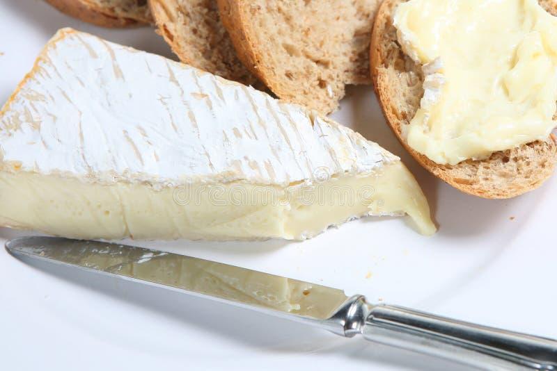 brie хлеба стоковая фотография rf