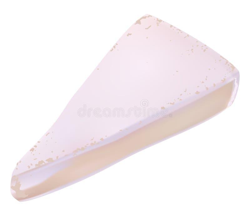 Brie vector illustratie