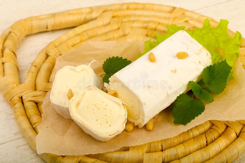 Brie cheese roll stock images