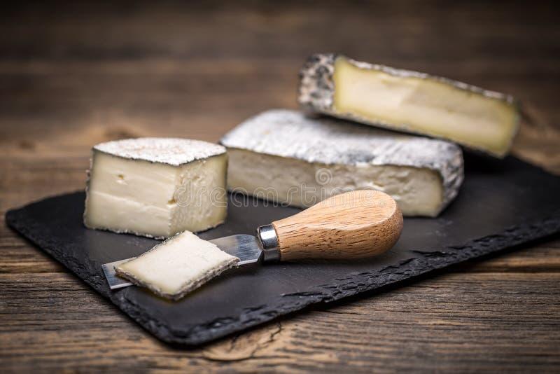 Brie Cream Cheese royalty-vrije stock afbeelding