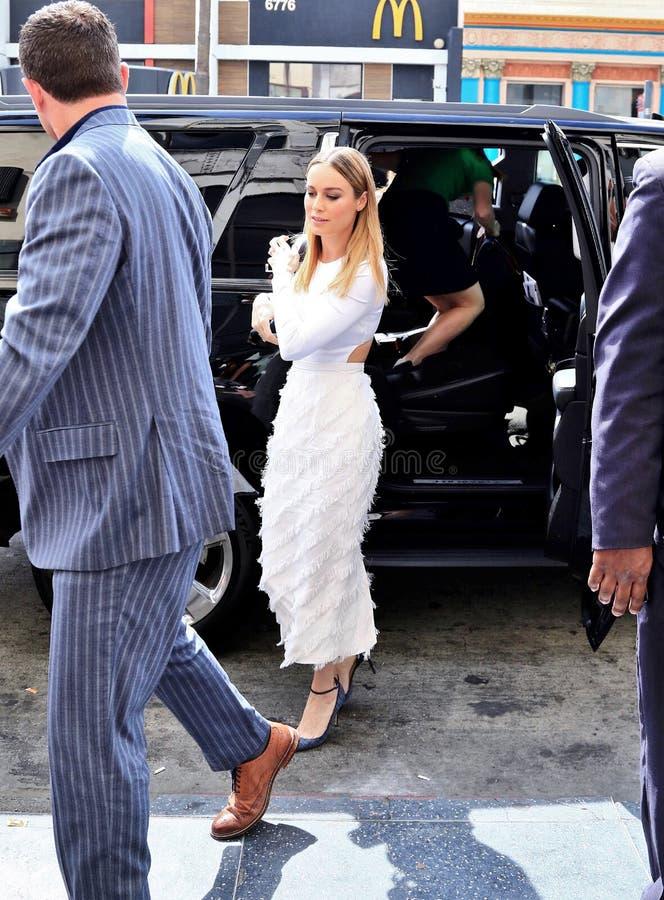 Brie Larson image stock