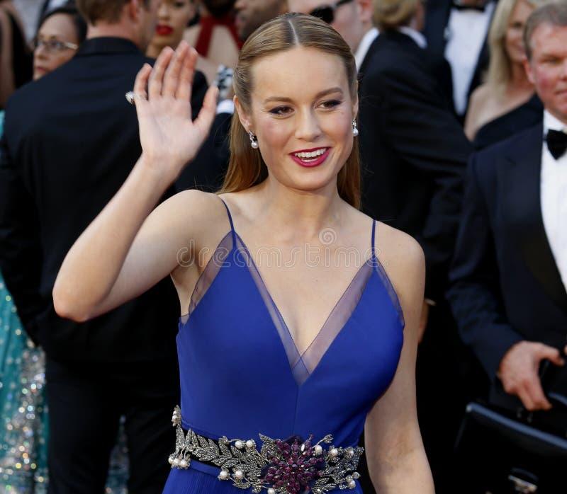 Brie Larson royalty-vrije stock foto
