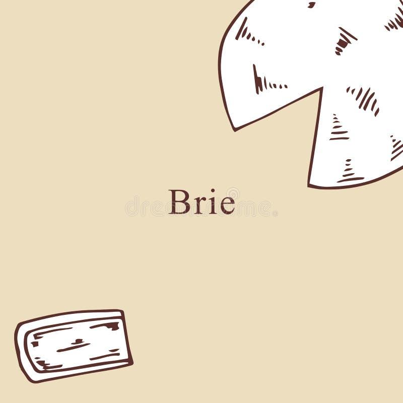 Brie vectorillustratie in beeldverhaalstijl vector illustratie