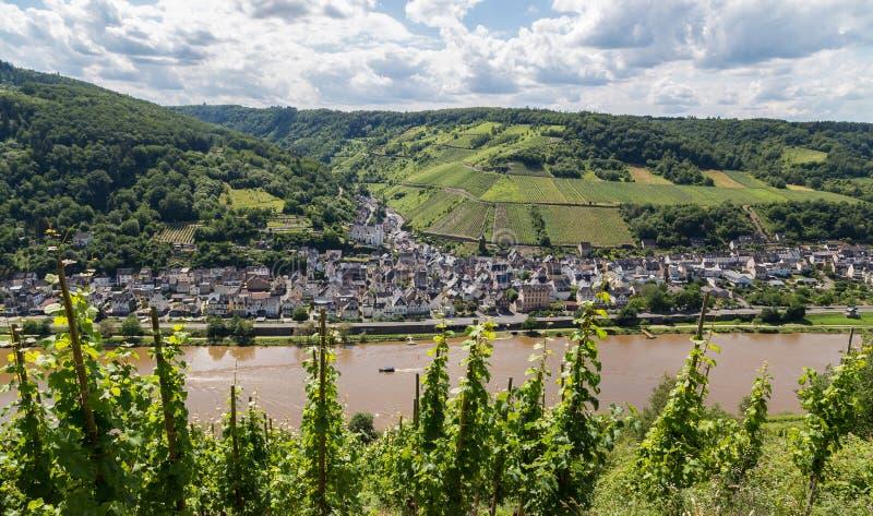 Briedel przy Moselle Niemcy Europa zdjęcia stock