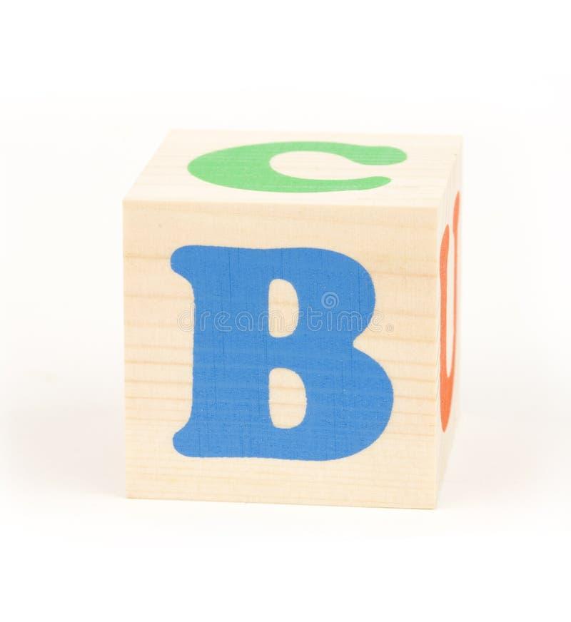 Brief B stock afbeelding