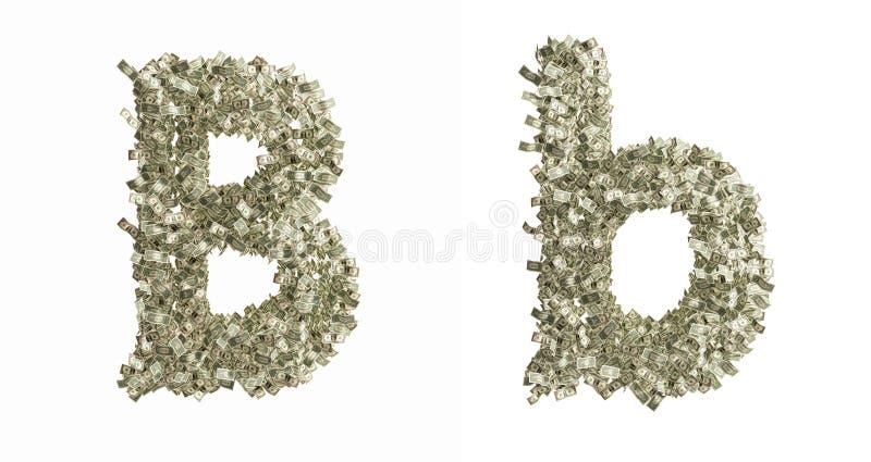 Brief B Stock Foto's