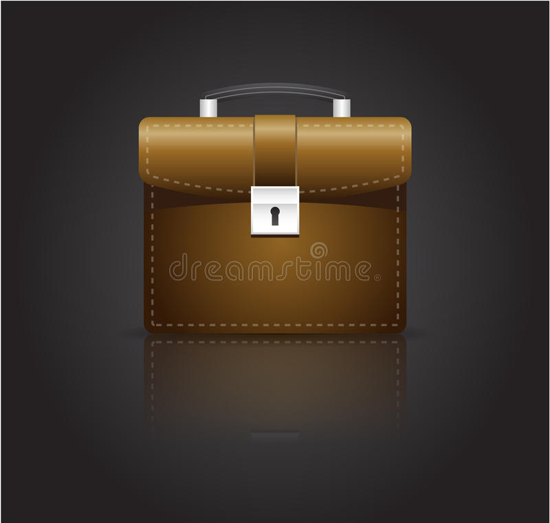 Download Brief case stock vector. Illustration of career, manager - 13439754