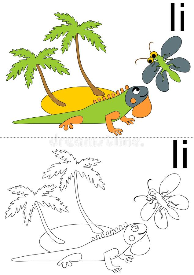 Brief I aantekenvel vector illustratie