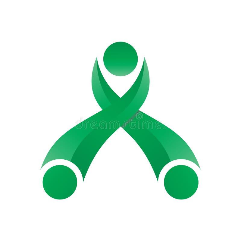 Brief Logo Modern stock illustratie