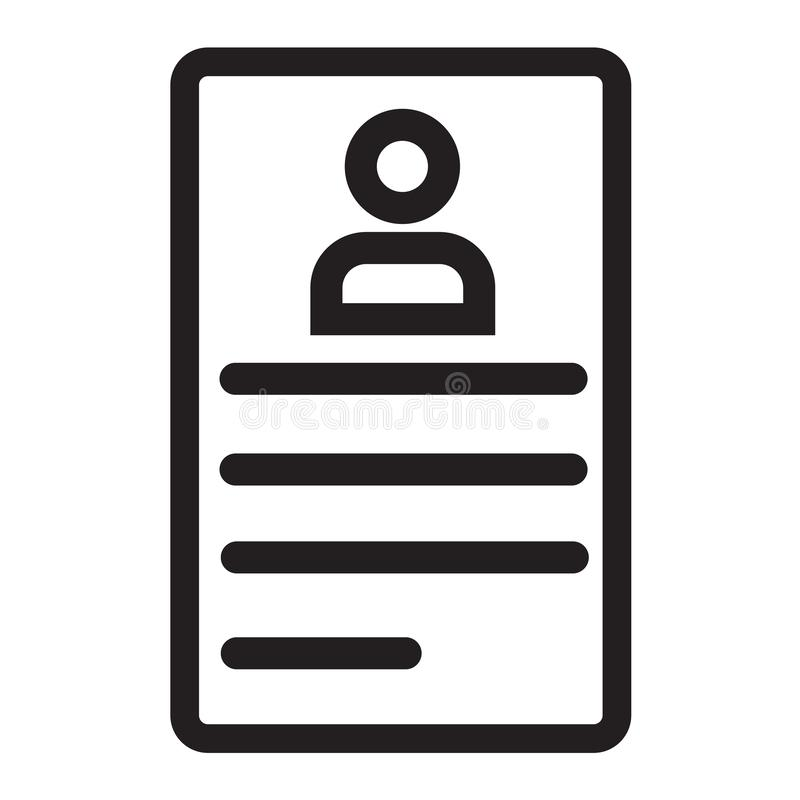 Brief met het vectordieteken van het zegelpictogram en symbool op wit wordt geïsoleerd vector illustratie