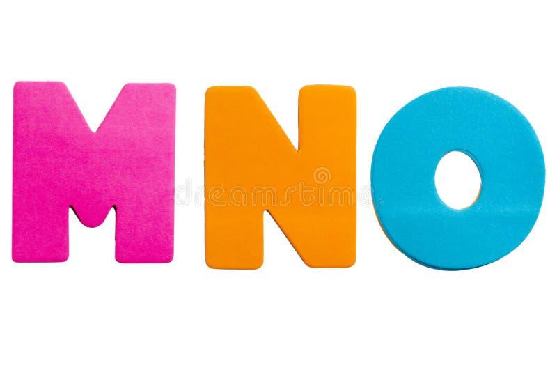 Brief MNO stock afbeelding