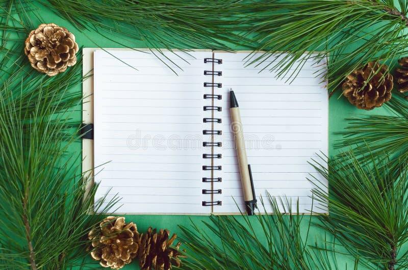 Brief om lijst te doen royalty-vrije stock fotografie