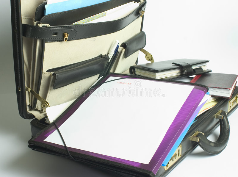 Download Briefcase stock photo. Image of file, leather, case, work - 117794