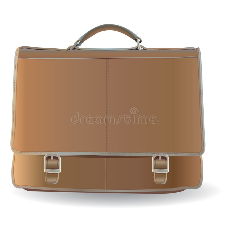 Briefcase stock illustration