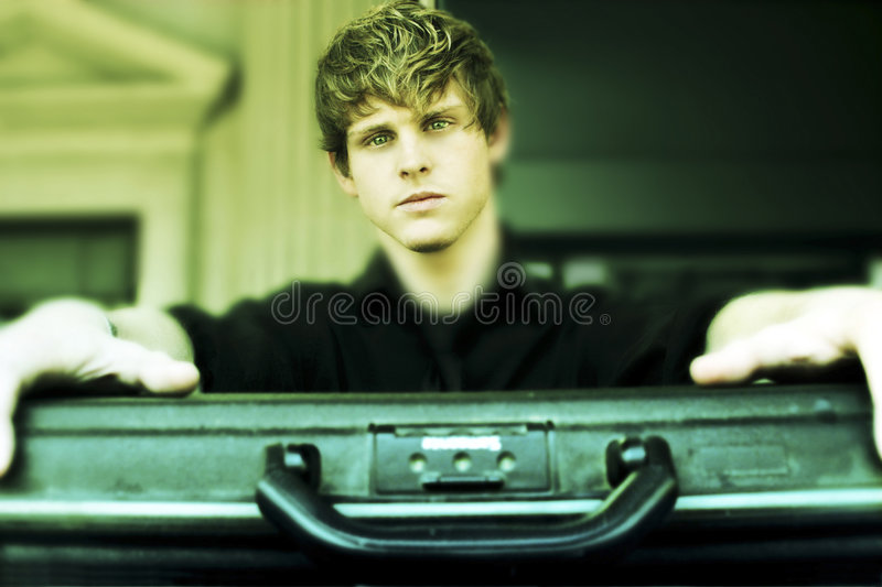 Download Briefcase stock photo. Image of future, success, serious - 7428226