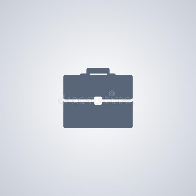 Briefcase , Bag, vector best flat icon stock illustration