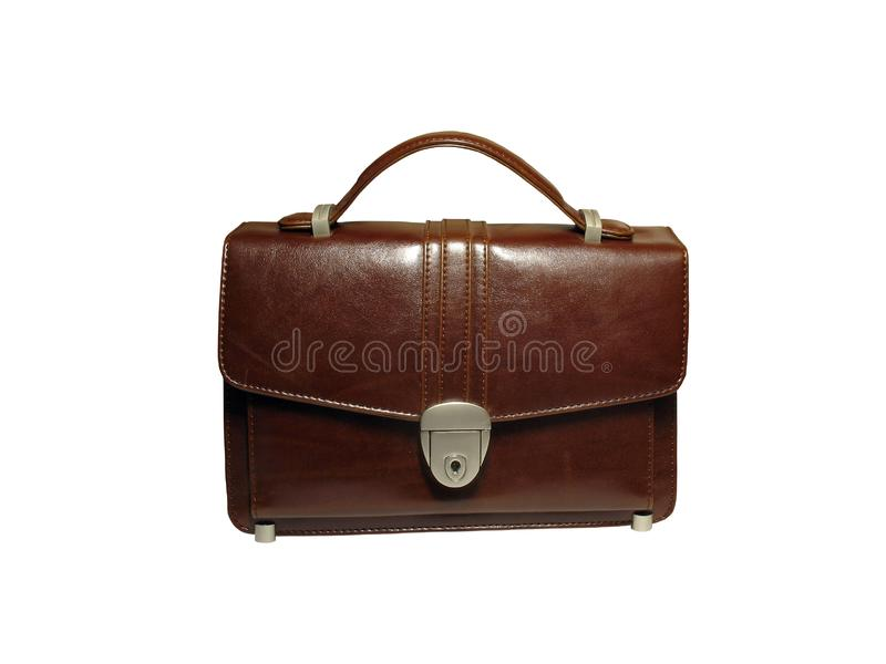 Briefcase (case) isolated stock photography