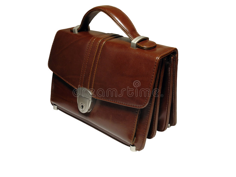 Briefcase (case) isolated. Briefcase (case) on white background, isolated, insulated, with clipping path for photoshop, with path, for designer stock photos