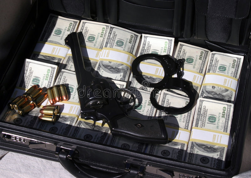 Download Briefcase Full Of Cash And Money Stock Photo - Image of could, mafia: 1281182