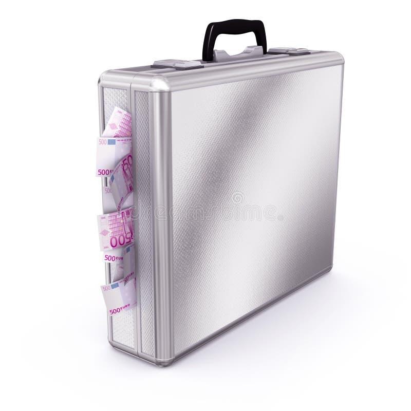 Download Briefcase Full Of Euro Bills Stock Illustration - Image: 13156305