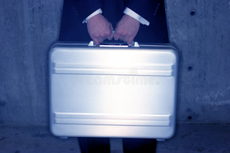 Download Briefcase holder stock photo. Image of hands, suit, rushing - 69678