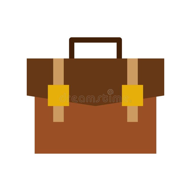 Briefcase icon. flat illustration of Briefcase vector icon for web vector illustration