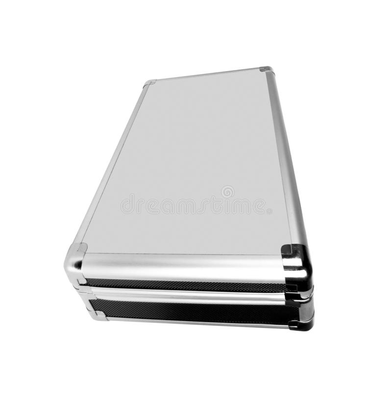Briefcase isolated on white royalty free stock photo