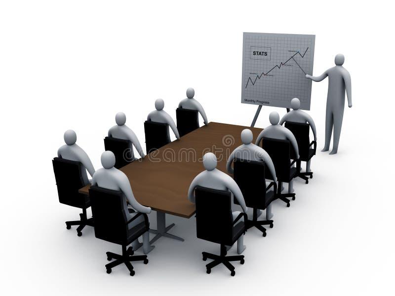 Briefing room #3 vector illustration