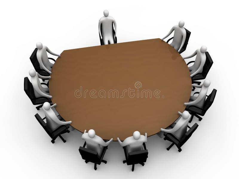 Briefing room #7 stock illustration