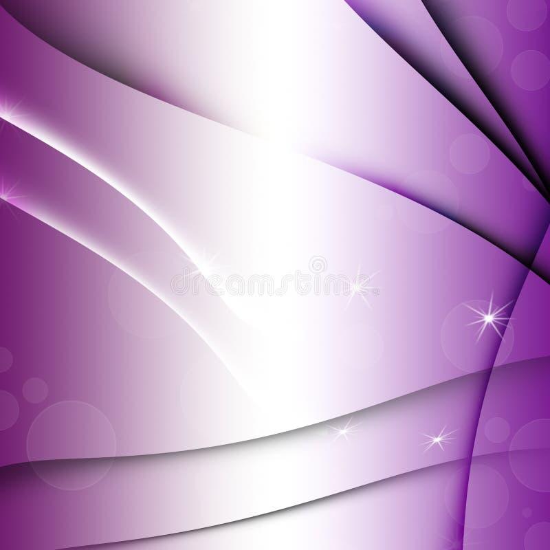 Briefkaart purpere textuur vector illustratie