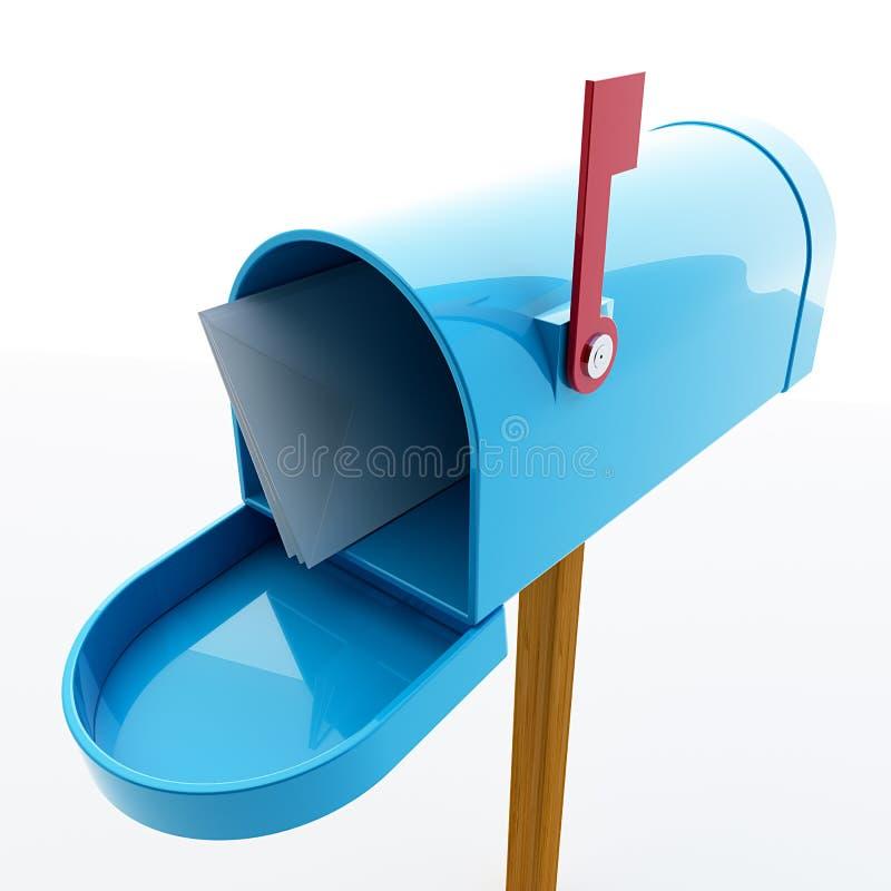 Briefkasten stock abbildung