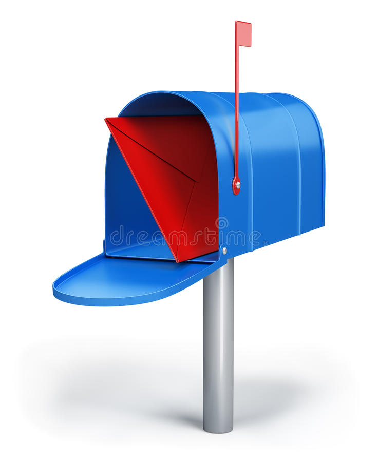 Briefkasten vektor abbildung