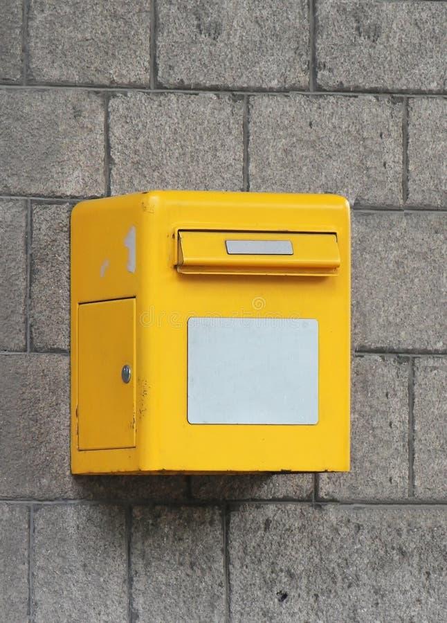 Briefkasten lizenzfreie stockfotos