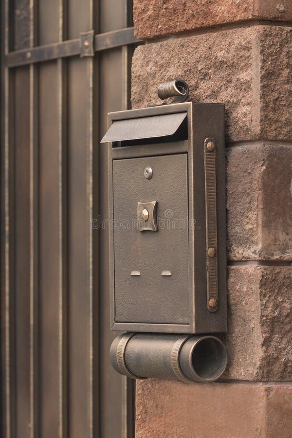 Briefkasten stockfotos