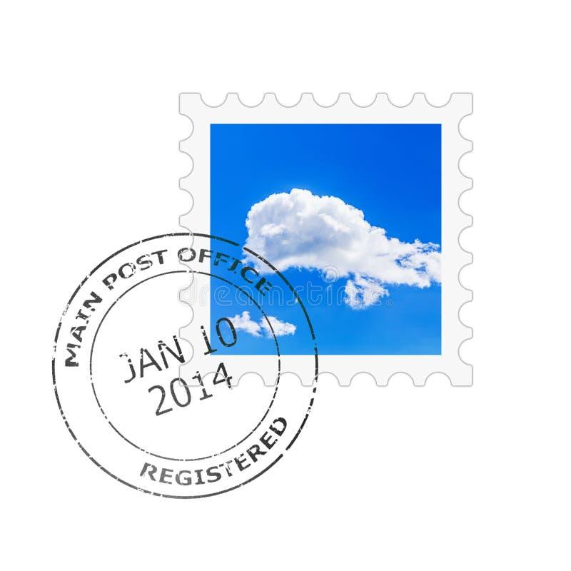 Briefmarke lizenzfreie abbildung