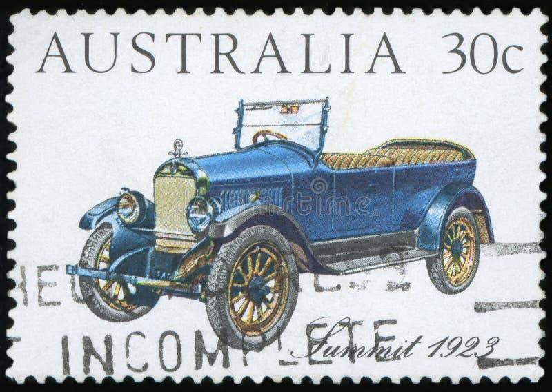 Briefmarke - Australien stock abbildung