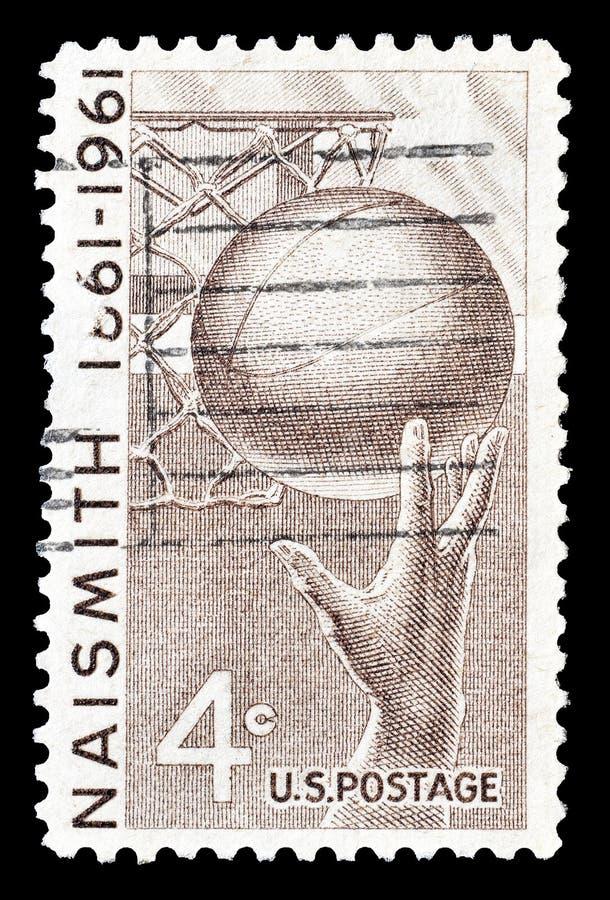Briefmarke gedruckt durch USA lizenzfreie stockfotos