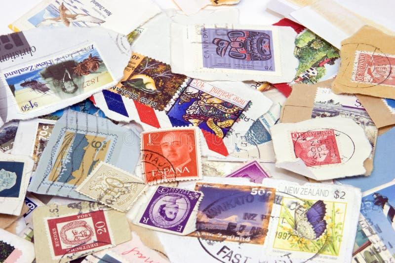 Briefmarken stockbilder