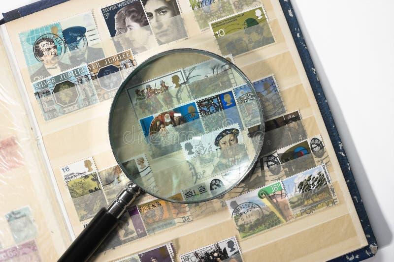 Briefmarkensammlung stockfotografie