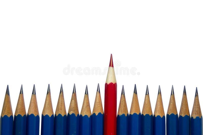 Briefpapier benutzt, um die Kunst zu malen lizenzfreie abbildung
