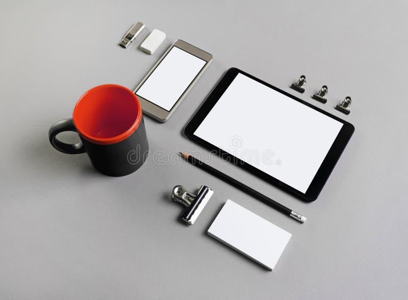 Briefpapier und Geräte lizenzfreies stockfoto
