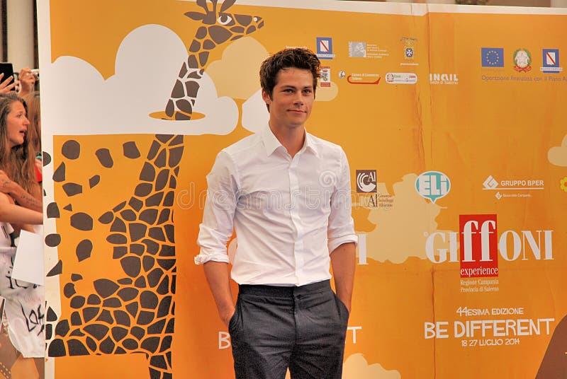 ` Brien al Giffoni Film Festival 2014 de Dylan O fotos de stock