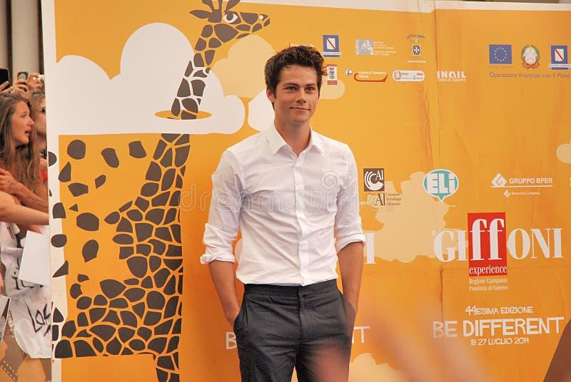 ` Brien al Giffoni Film Festival 2014 de Dylan O foto de stock