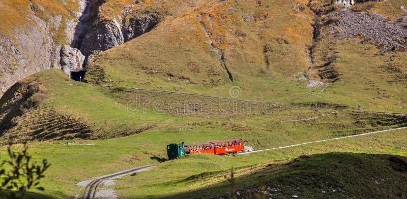 brienz-Rothorn Taborowy Szwajcaria - Parowy Pociąg II zdjęcie stock