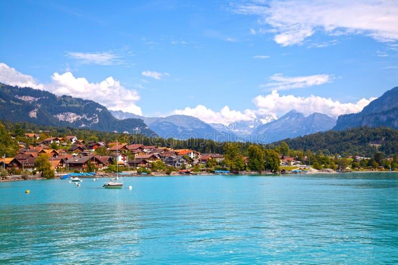 Brienz Town, Switzerland stock image